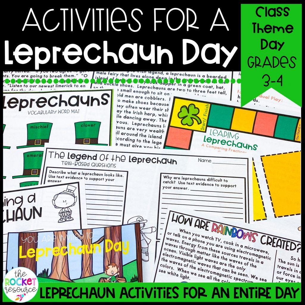 leprechaun classroom theme day