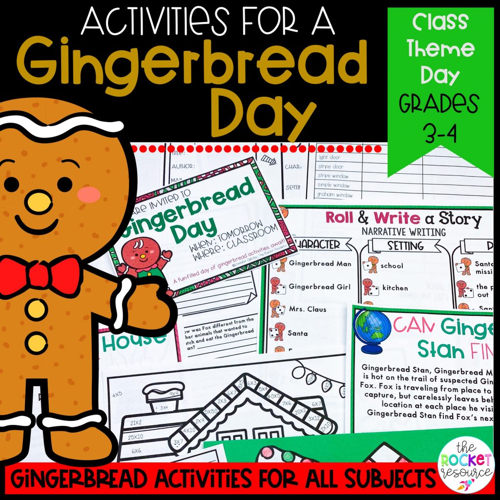 gingerbread classroom theme day