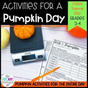 pumpkin activities for the classroom