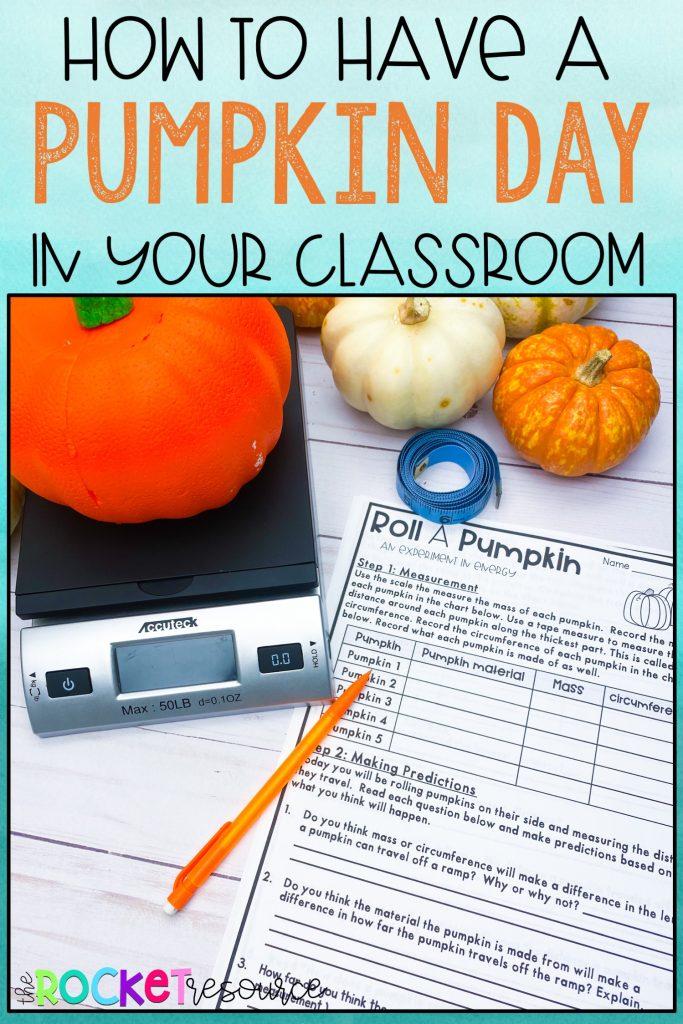 pumpkin classroom activities