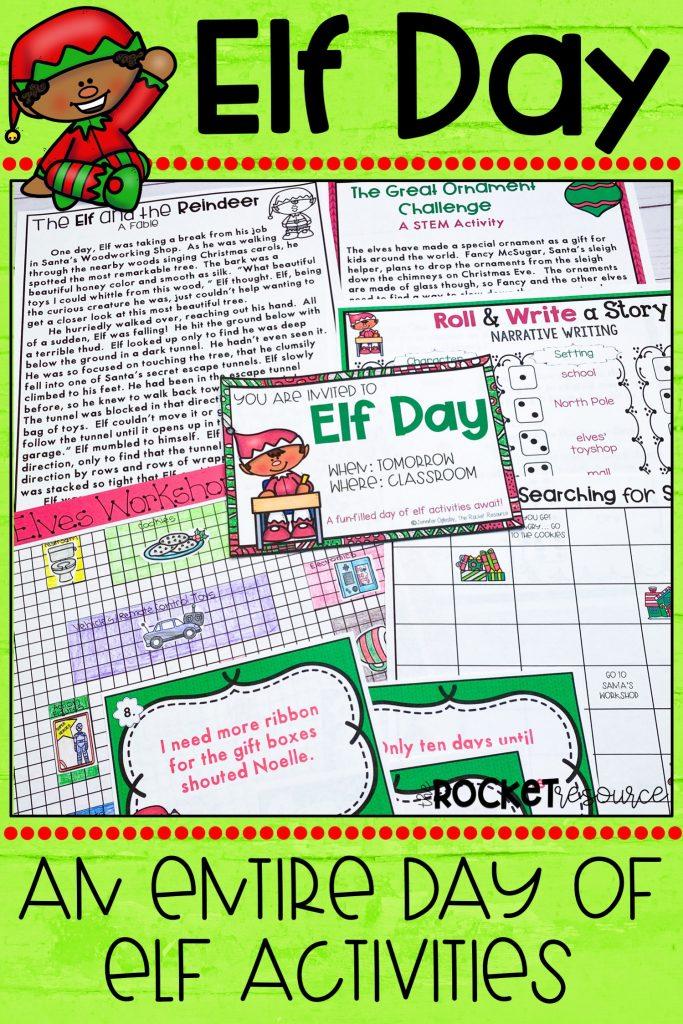 elf classroom activities
