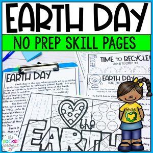 Earth Day no-prep resources
