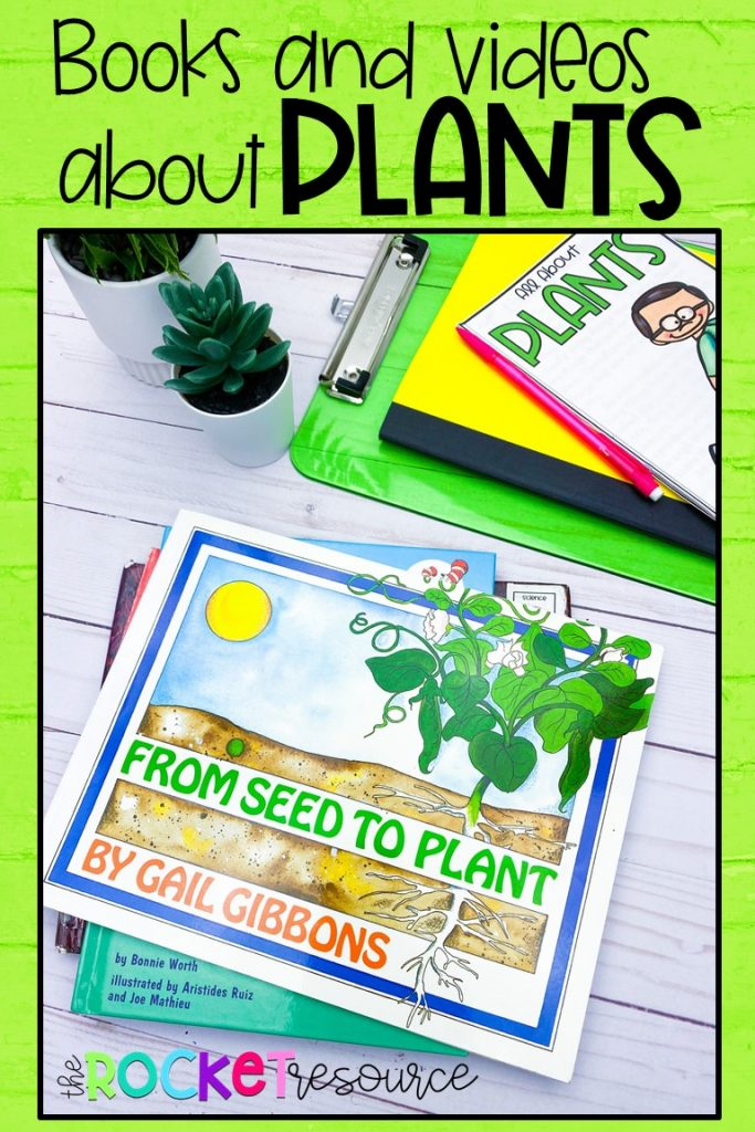 books and videos about plants