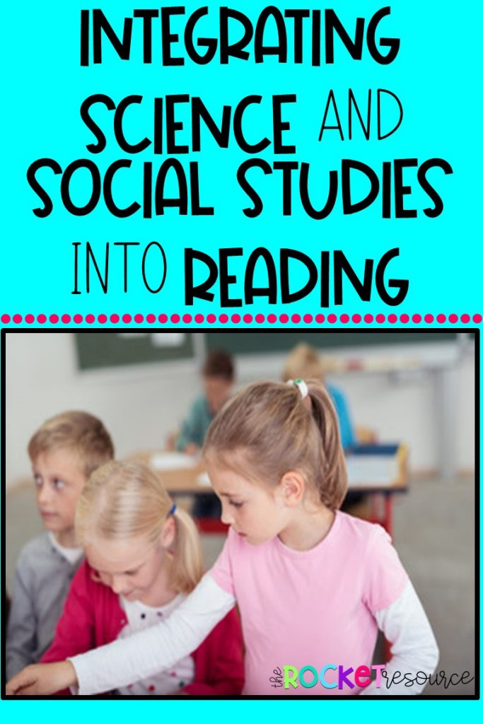integrating science and social studies into reading