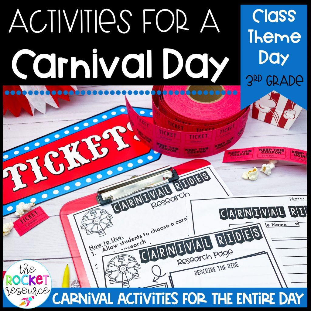 carnival classroom theme day