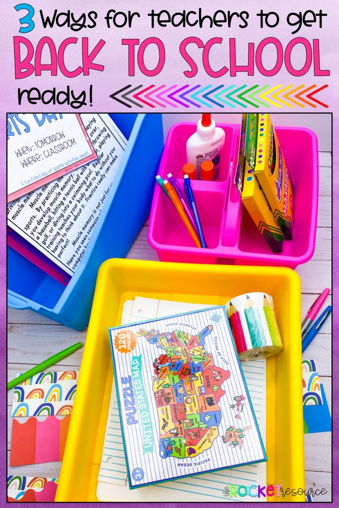 3 ways for teachers to get back to school ready