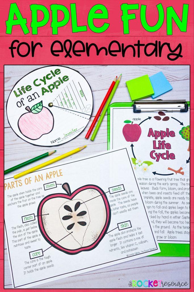 apple fun for elementary