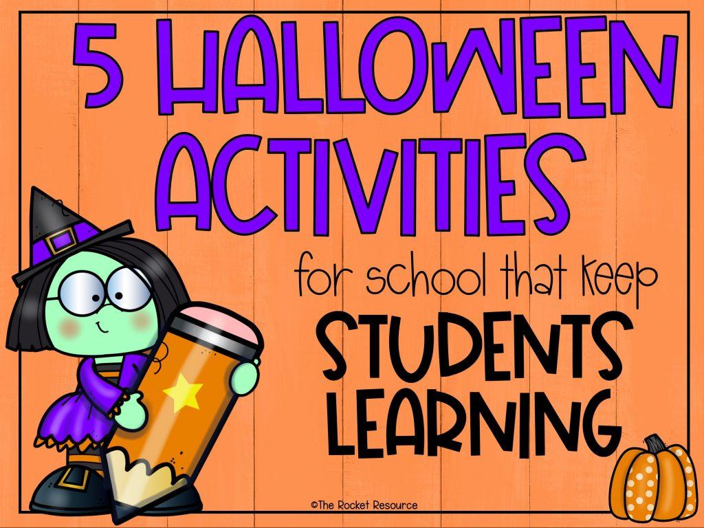 Halloween activities for school