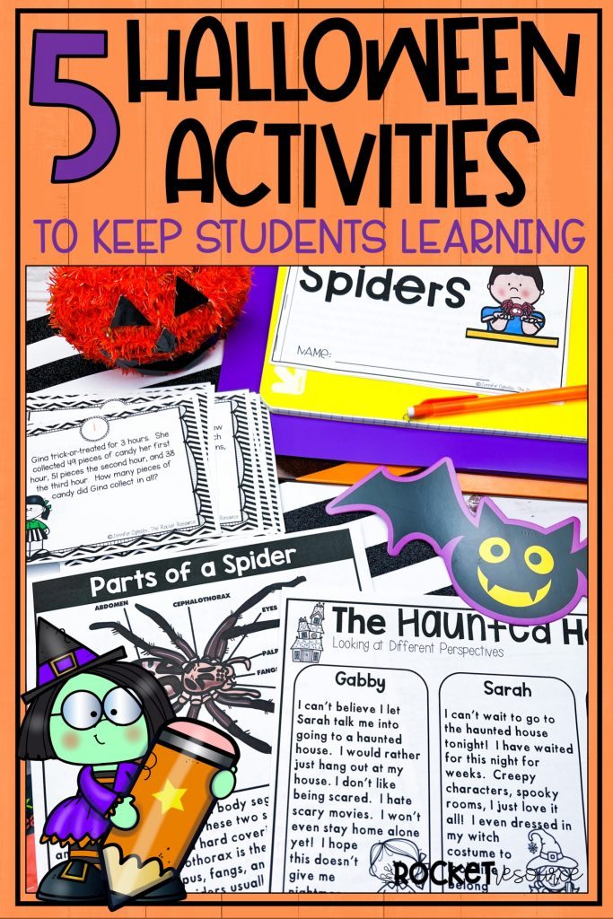 5 Halloween activities to keep students learning